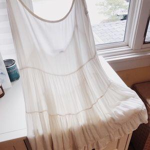 Brandy Melville White Classic Jada Dress
